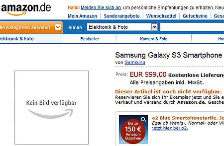Amazon.de ����� ����� ������� �� Samsung Galaxy S III
