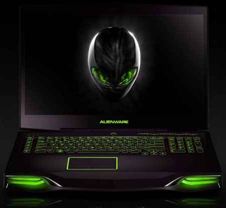 Dell начинает продажи игровых ноутбуков Alienware M14x, M17x и M18x на процессорах Ivy Bridge