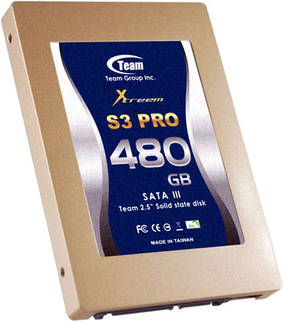 ������������� ���������� Team Group Xtreem SSD S3 PRO � ������ ������ ��������� �������� �� 550 ��/�