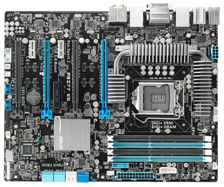 ��������� ����� ASUS P8Z77 WS