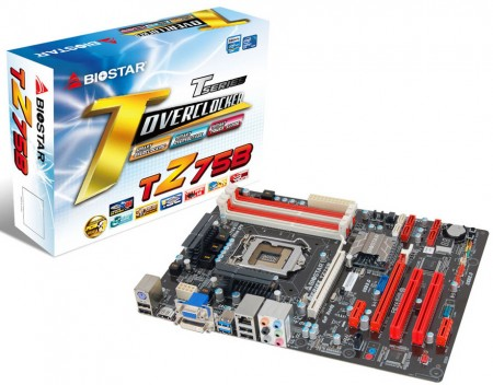 Системная плата BIOSTAR TZ75B