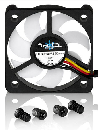 В серию Fractal Design Silent R2 вошли вентиляторы размером от 40 до 140 мм