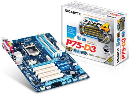GIGABYTE GA-P75-D3