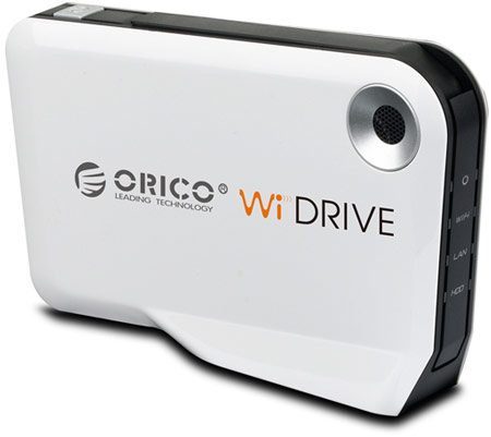 ORICO WiDrive — корпус для внешнего накопителя с беспроводным подключением