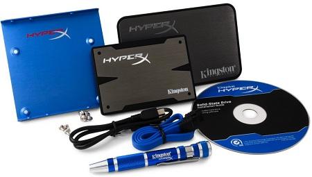 Kingston HyperX 3K в естественной среде обитания