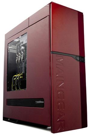 MAINGEAR включает в конфигурацию рабочей станции Quantum SHIFT 4K процессоры Intel Xeon E5-2600