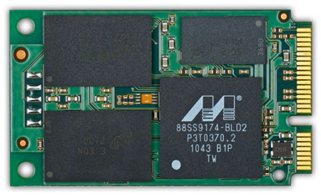 Micron выпускает твердотельные накопители для ультрабуков RealSSD C400 mSATA