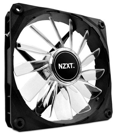 NZXT дополняет серию корпусных вентиляторов FZ моделями типоразмера 120 мм и 140 мм