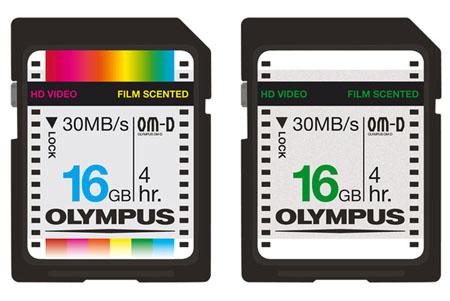 Эксклюзивные ретро-карты для Olympus OM-D