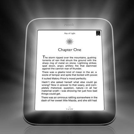 �������� Nook Simple Touch with GlowLight �������� � ����������� �������