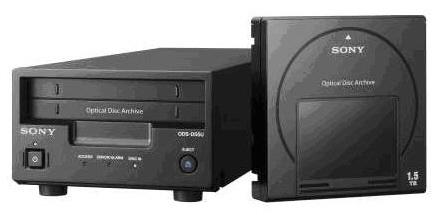 Sony анонсирует выпуск архивных хранилищ на оптических дисках