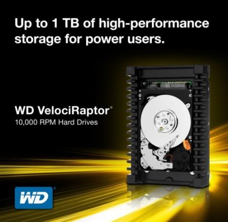 Жёсткие диски WD VelociRaptor