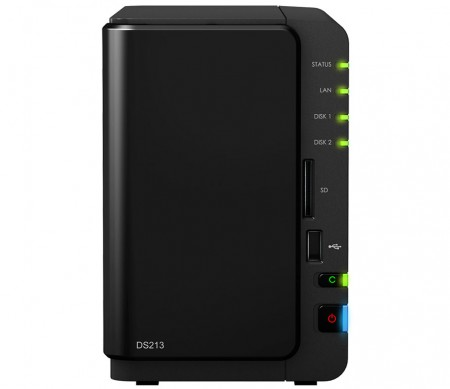 NAS-серверы Synology DiskStation DS213 и DS213+