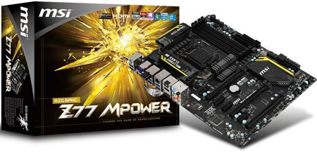 �������� ������� ��������� ���� MSI Big Bang Z77 MPower