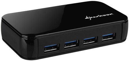 Sharkoon External 4-Port USB3.0 Hub