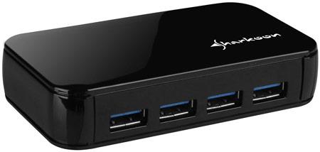 Sharkoon External 4-Port USB3.0 Hub