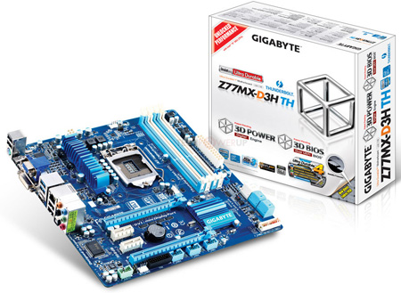 Gigabyte Z77MX-D3H-TH