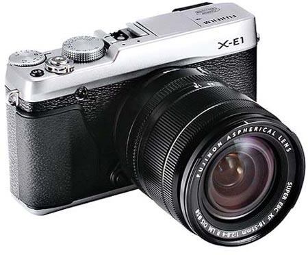 В Сети появились изображения и спецификации беззеркальной камеры Fujifilm X-E1