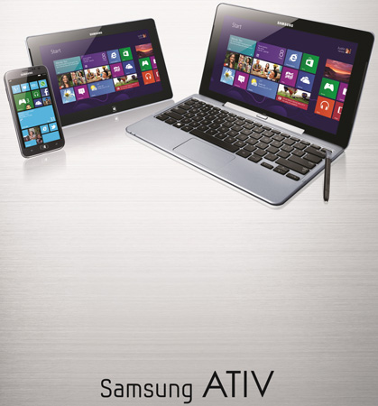 ATIV — семейство мобильных устройств Samsung под управлением ОС Windows