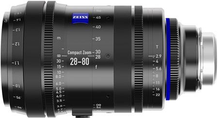 Анонсирован объектив для кино- и видеосъемки Carl Zeiss Compact Zoom CZ.2 28-80/T2.9