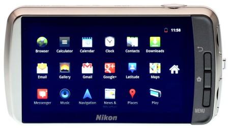 Nikon Coolpix S800c экран