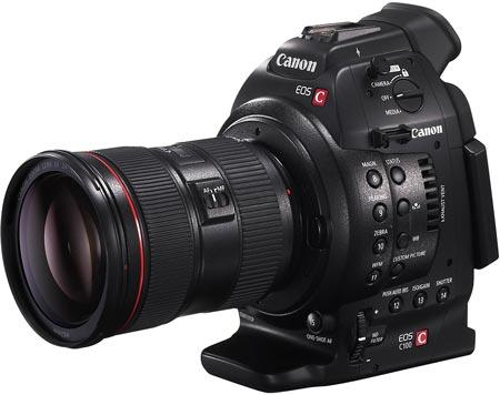 Canon дополнила систему Cinema EOS камерой EOS C100