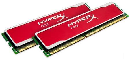 Модули HyperX red поддерживают Intel XMP