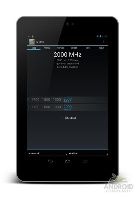 Nexus 7 2 ГГц