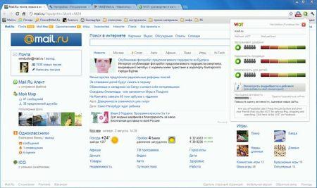 Интернет браузер WOT