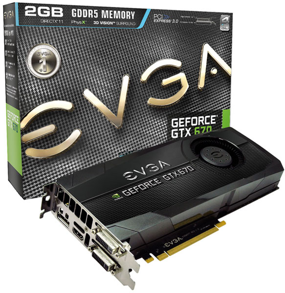 EVGA GeForce GTX 670 FTW LE