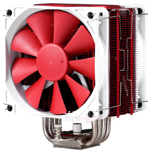 Процессорные охладители Phanteks PH-TC12DX предложены в четырех цветовых вариантах