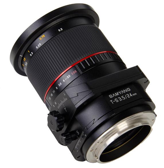 Объектив Samyang T-S 24mm f/3.5 ED AS UMC