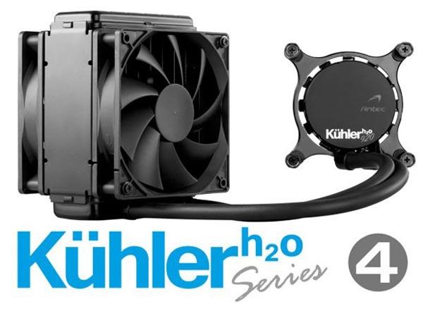 В каталоге Antec появились процессорные системы жидкостного охлаждения Kuhler H<sub>2</sub>O 620 и 920