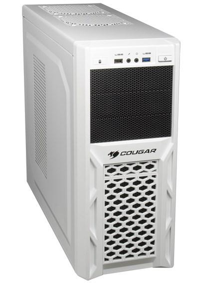 Cougar радует поклонников белых корпусов «зимними» версиями Volant и Solution