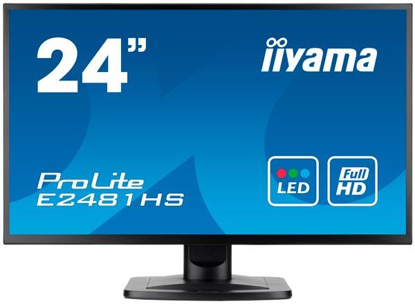В 24-дюймовых мониторах iiyama ProLite B2481HS и E2481HS используются панели типа TN