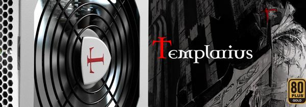 В серию блоков питания AeroCool Templarius Imperator вошли модели мощностью от 550 до 1150 Вт