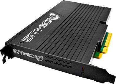 BiTMICRO начинает серийный выпуск корпоративных SSD maxIO