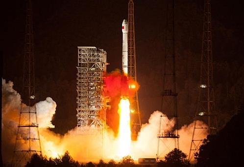 Запуск спутника BDS
