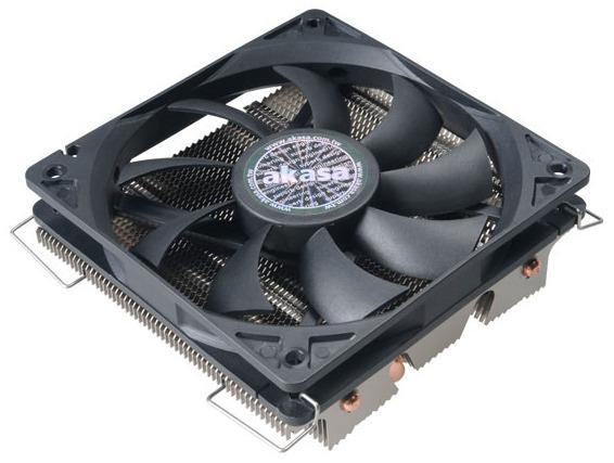 Низкопрофильный процессорный охладитель Akasa Nero LX предназначен для HTPC