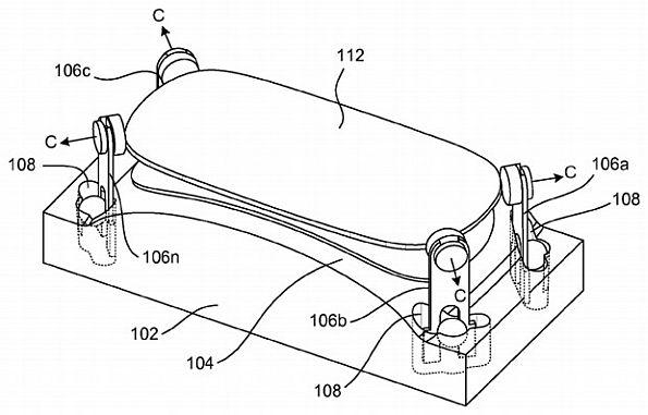 Патент Apple на технологию изготовления изогнутого стекла