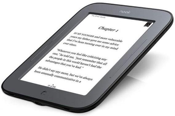 Новая цена Barnes & Noble Nook Simple Touch — $79