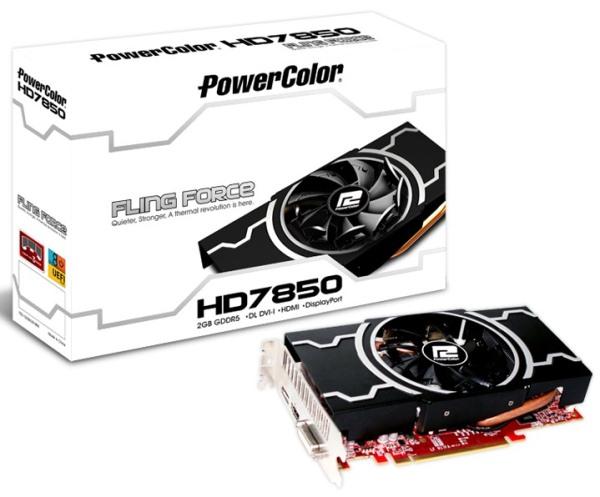 PowerColor Radeon HD 7850 Fling Force