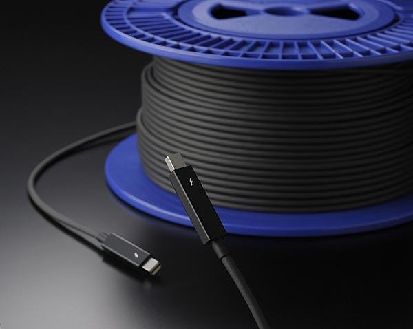 Компания Sumitomo Electric первой в мире начала серийный выпуск сертифицированных оптических кабелей Thunderbolt