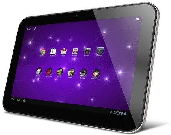 Основой Toshiba Excite 10 SE служит платформа NVIDIA Tegra 3