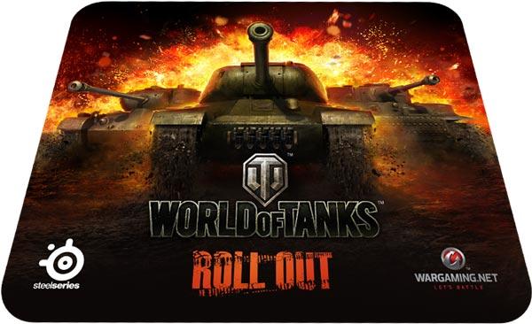 SteelSeries и Wargaming выпустят мышь и коврики для любителей игры World of Tanks