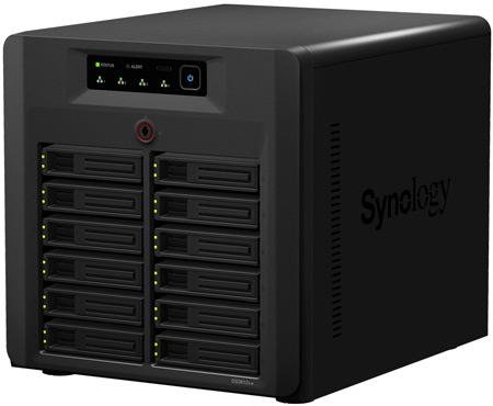 Synology обновила серверы NAS серии XS и анонсировала первую восьмидисковую модель DiskStation DS1812+