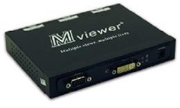 ACUBE MViewer MV103 превращает один выход DVI в три