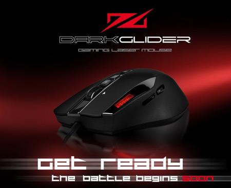 Игровая мышь Sharkoon DarkGlider будет представлена на выставке CeBIT