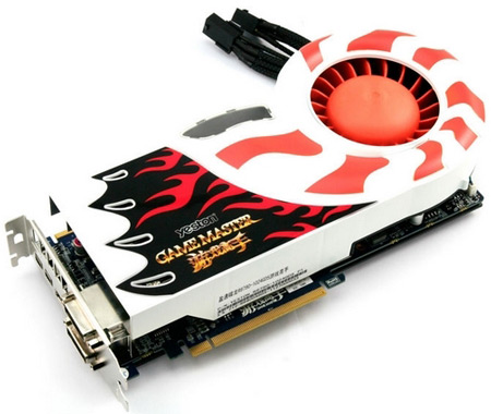 3D-карта Yeston R6870 Game Master