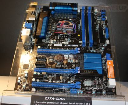 Системная плата MSI Z77A-GD65